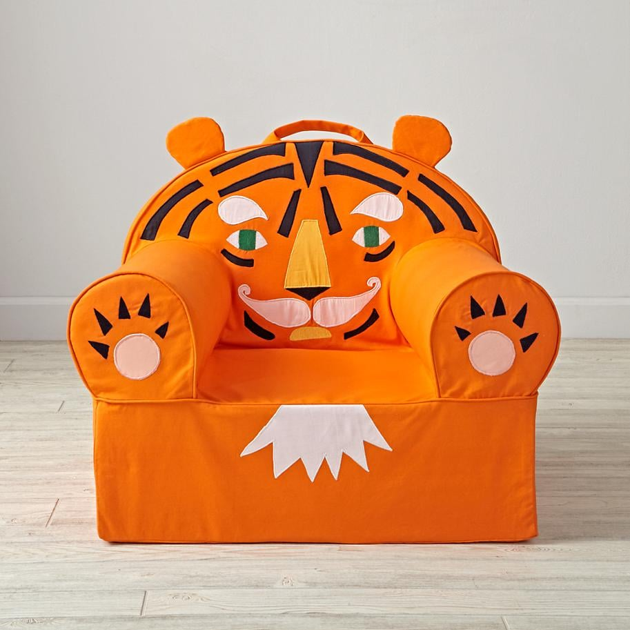 For 2-Year-Olds: Land of Nod Tiger Chair