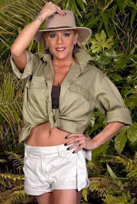 Photos of Sam Fox Who Is the Third Contestant Voted Off I'm a Celebrity Get Me Out of Here