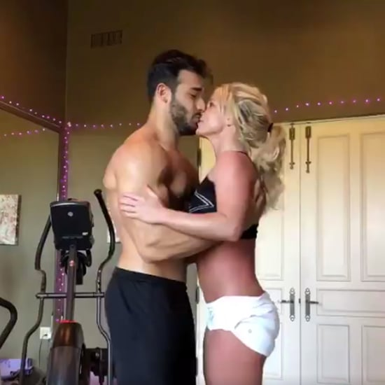 Britney Spears and Boyfriend Sam Asghari Dancing Video