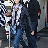 Matt Damon and Luciana Damon went to LA.