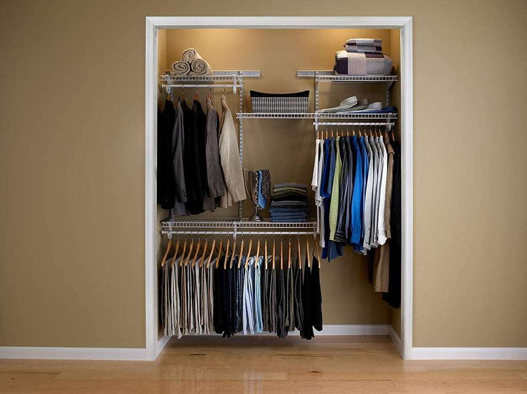ClosetMaid ShelfTrack Adjustable Closet Organiser Kit