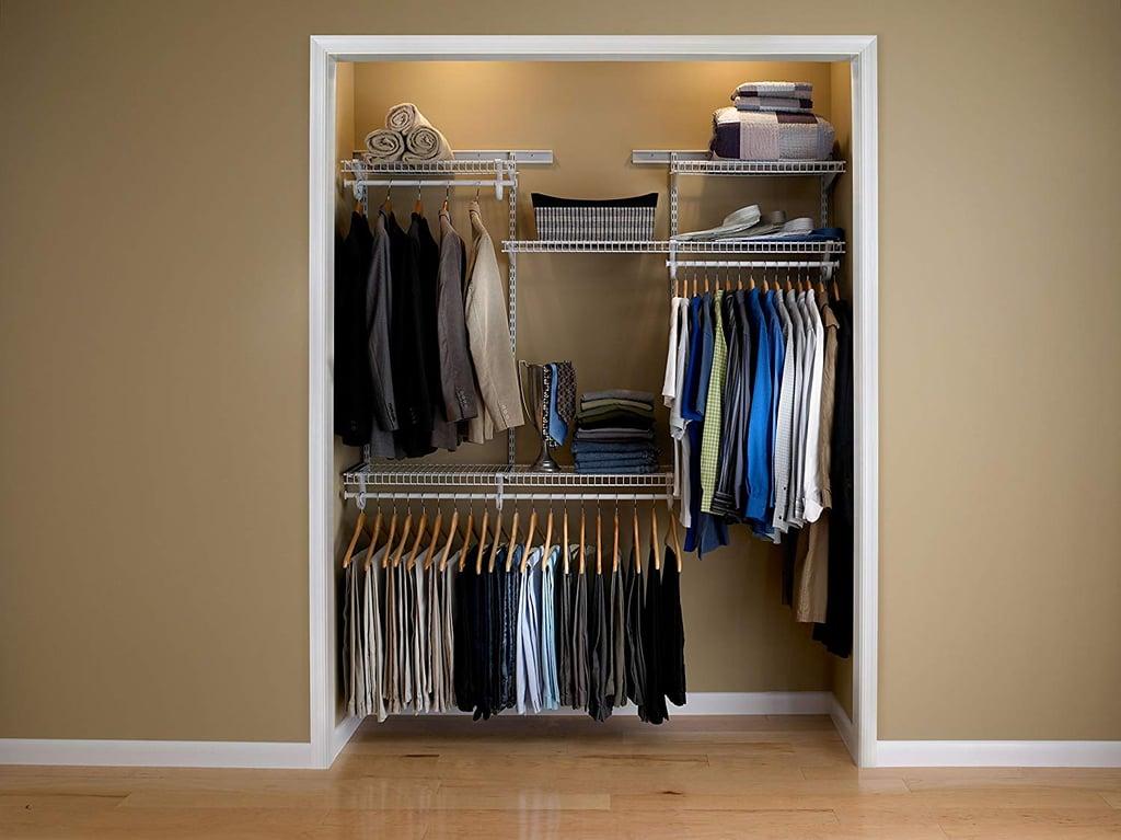 ClosetMaid ShelfTrack Adjustable Closet Organizer Kit
