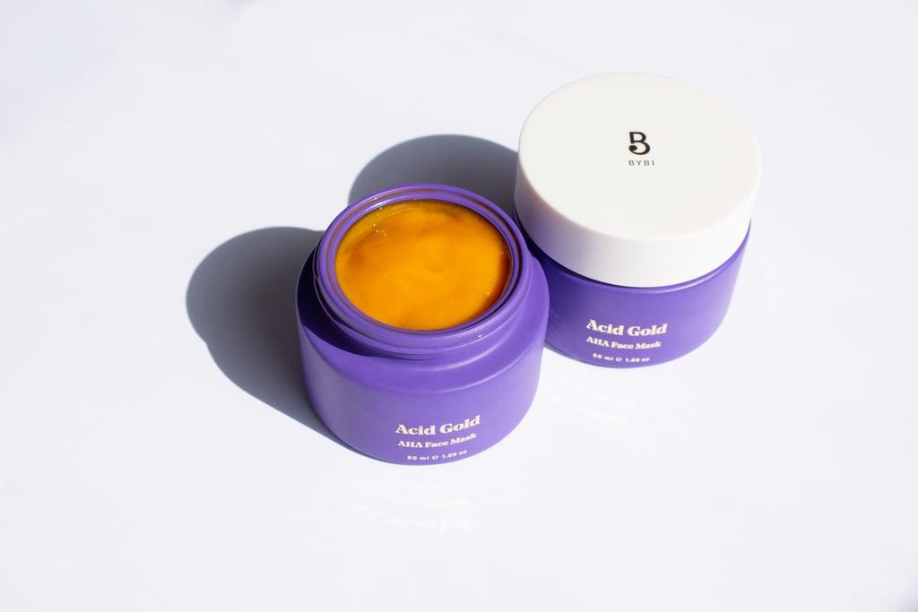 BYBI Acid Gold AHA Resurfacing Face Mask