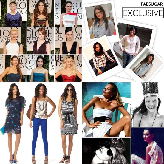 Fab Recap — All the Golden Globes Fashion, Kate Moss's Birthday, Target's Spring Line, and More!