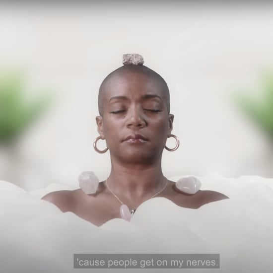 Watch Tiffany Haddish Meditate in the Bath With Headspace