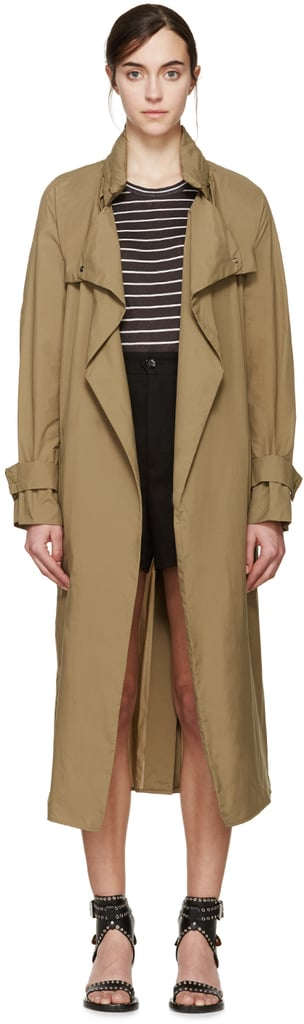 It's a fact: Winter weather isn't exactly over, but I'm optimistically shedding layers and opting for this Isabel Marant trench ($415) to make the transition to Spring. — Hannah Weil McKinley, senior editor