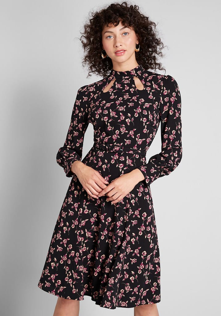 Modcloth Enjoy Every Moment Midi Dress