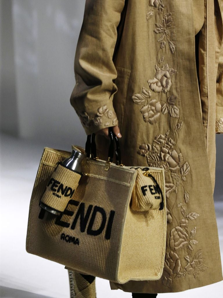 A bag from the Fendi spring/summer 2021 runway.