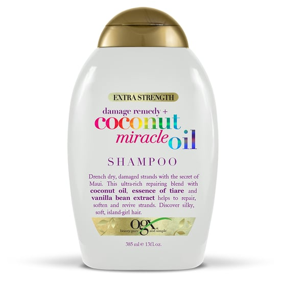 Shampoo OGX Extra Strength Damage Remedy + Coconut Miracle Oil Shampoo Shop Now