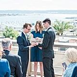 Rooftop Wedding in San Diego