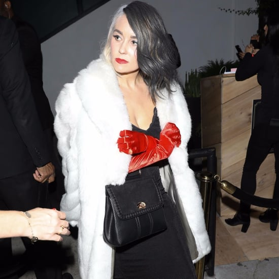 Lauren Conrad Cruella de Vil Halloween Costume Shoes