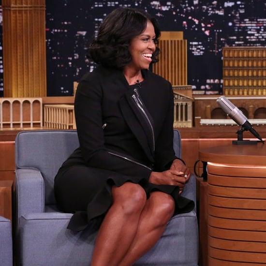 Michelle Obama Talks About Farewell Address on Fallon 2017