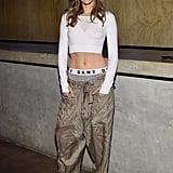 Suki Waterhouse at the DKNY Party During New York Fashion Week