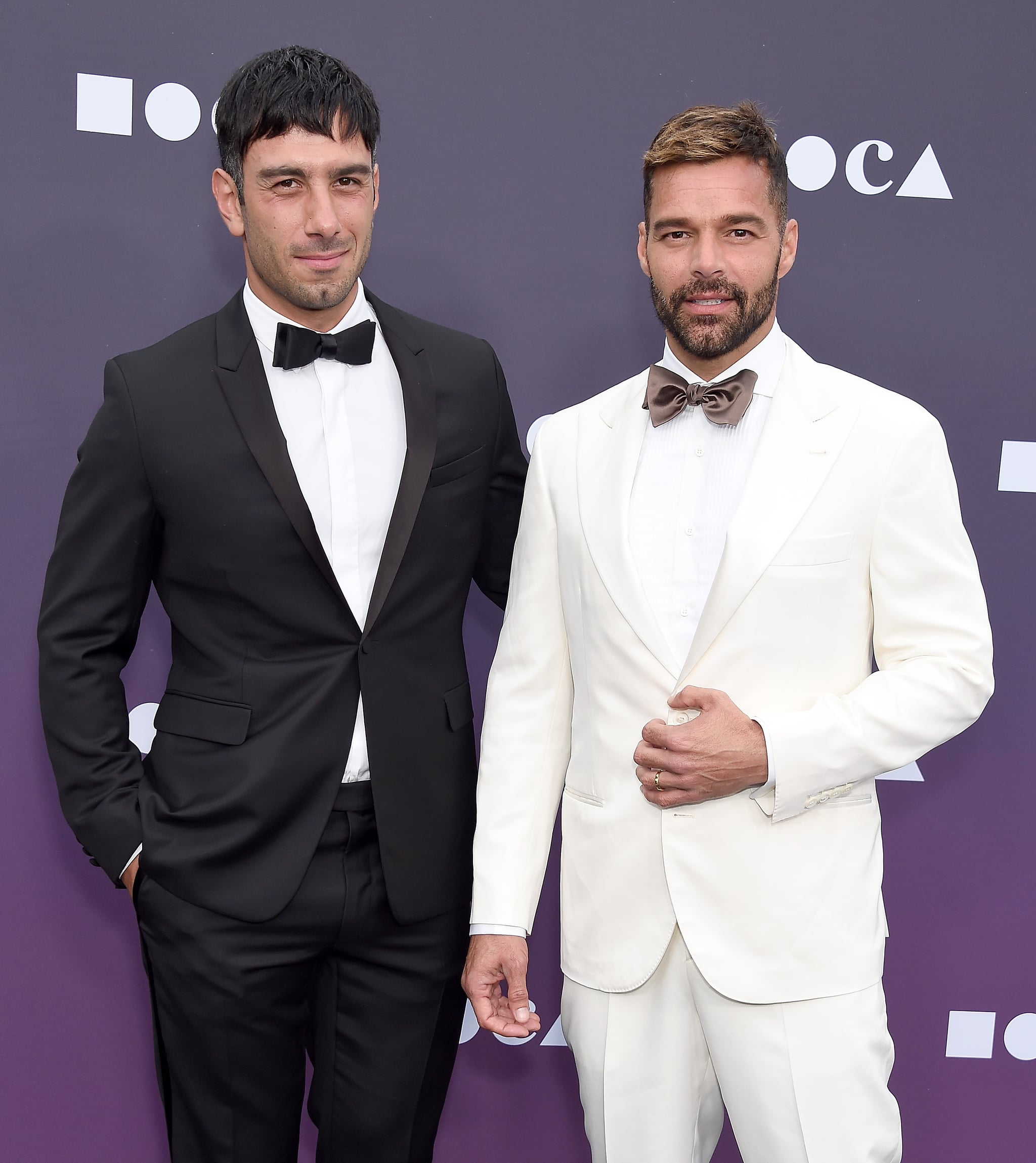 LOS ANGELES, CA - MAY 18:  Ricky Martin and Jwan Yosef attend the MOCA Benefit 2019 at The Geffen Contemporary at MOCA on May 18, 2019 in Los Angeles, California.  (Photo by Gregg DeGuire/FilmMagic)
