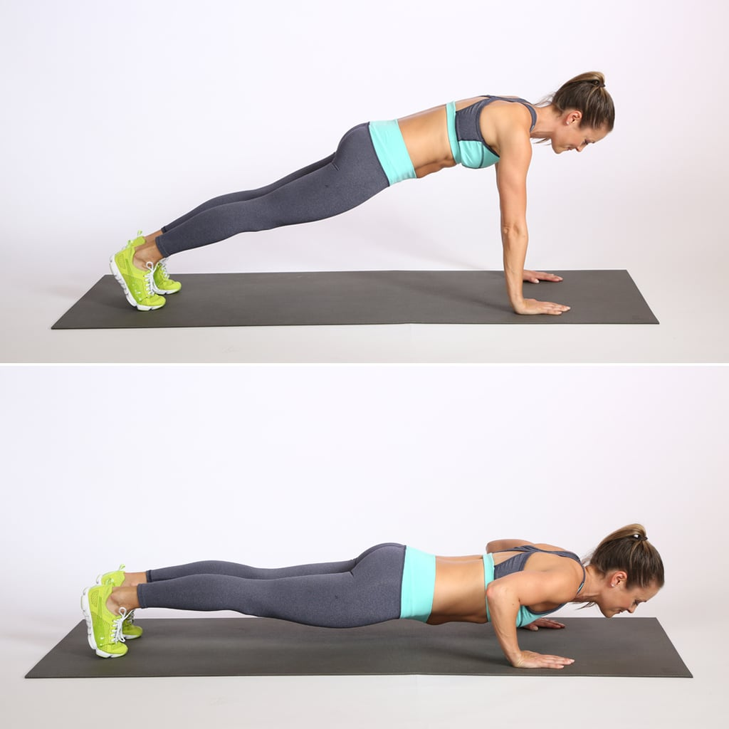 Circuit 2: Push-Up — 15 Reps