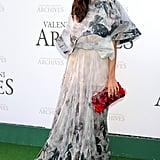 Olivia Palermo in a beautiful floral gown by Armani.