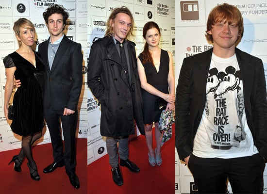 Photos of Bonnie Wright, Jamie Campbell Bower, Rupert Grint, Aaron Johnson at British Independent Film Awards 2009 Winners