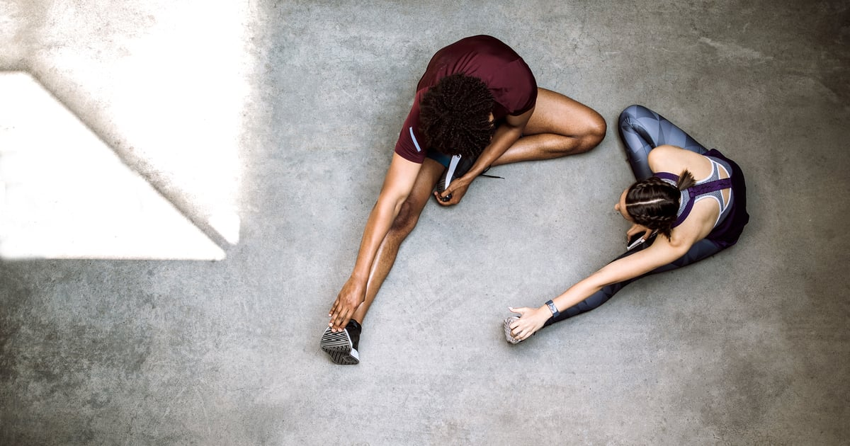 Team Up Against WFH-Induced Back Pain With These Partner Stretches