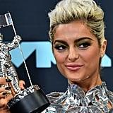 Metallic Eye Shadow Trend at MTV VMAs 2019