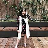 The Dress: POPSUGAR Flounce-Hem Mini Dress