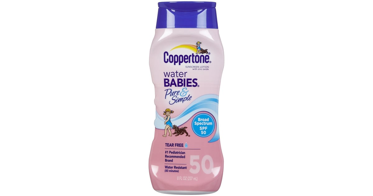 4 Lotion Coppertone Waterbabies Spf 50 Lotion Consumer