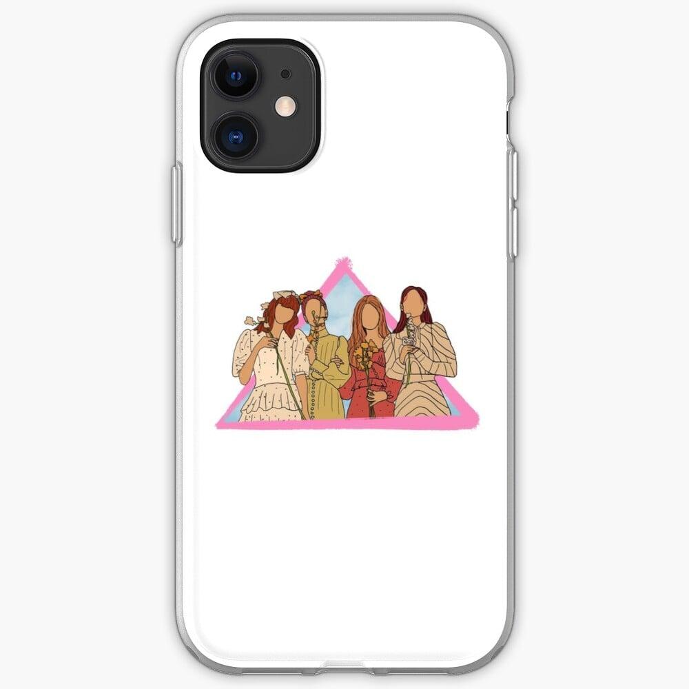 Floral Blackpink iPhone Case