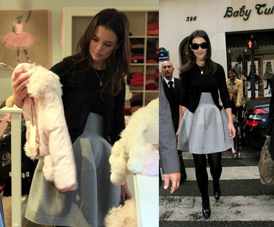 "Katie ""Shopping"" for Suri in Paris"