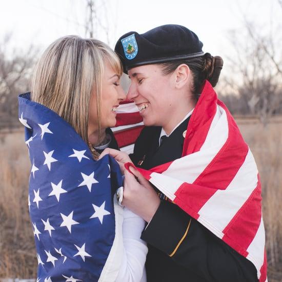 Lesbian Military Engagement Shoot