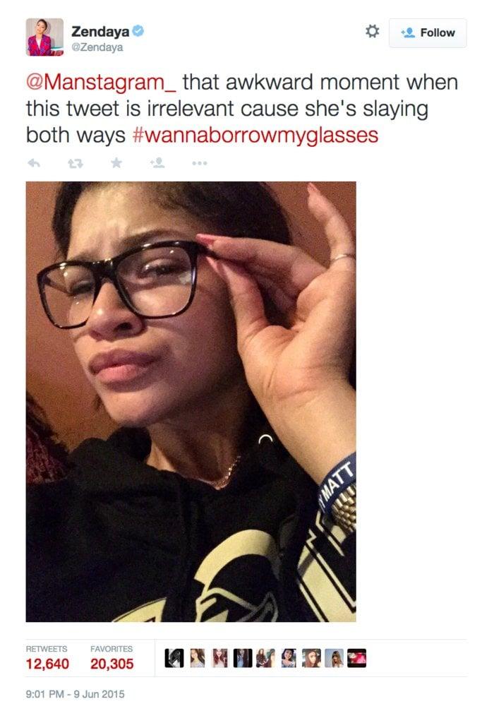 That Misogynist Twitter Account Zendaya S Best Twitter