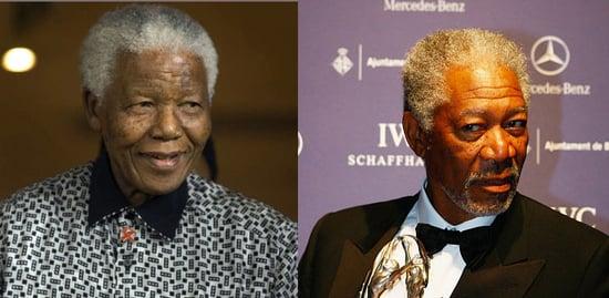 Morgan Freeman to Play Nelson Mandela