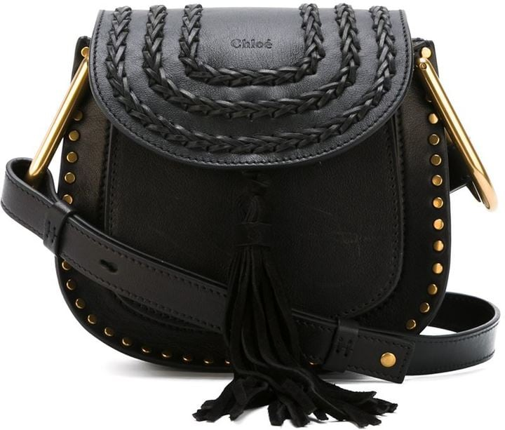 You'll want to take your trusty Chloé crossbody bag ($1,990) everywhere.