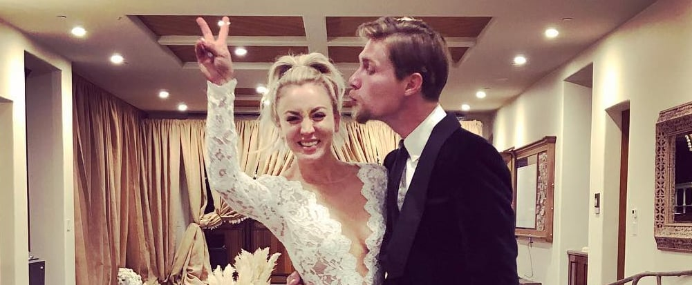 Kaley Cuoco's Anniversary Message For Karl Cook 2019