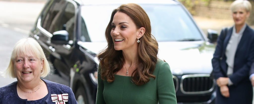 Kate Middleton Green Emilia Wickstead Dress May 2019