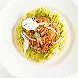 Chicken Tinga Tostada