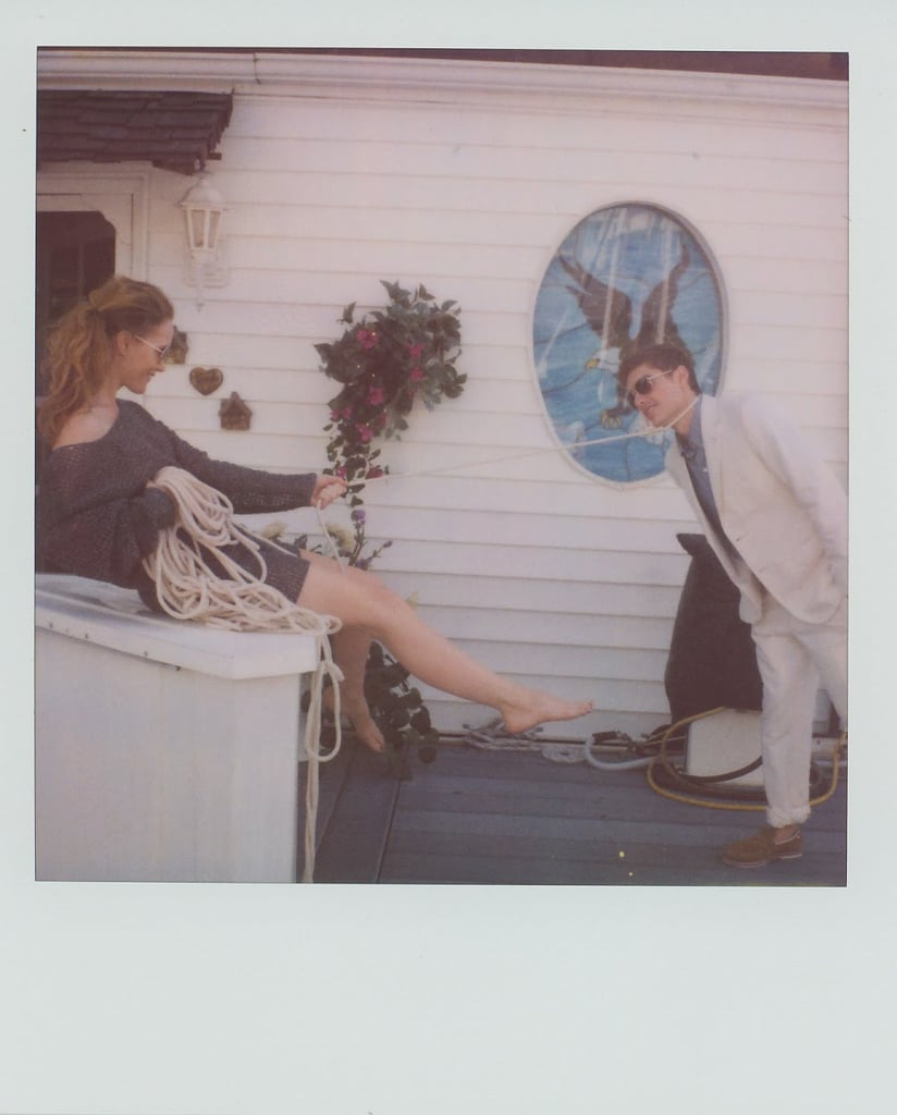 "Scott Sternberg's Spring 2010 Polaroid Lookbook Captures Leslie Mann as a ""Cougar with Two Younger Dudes"""