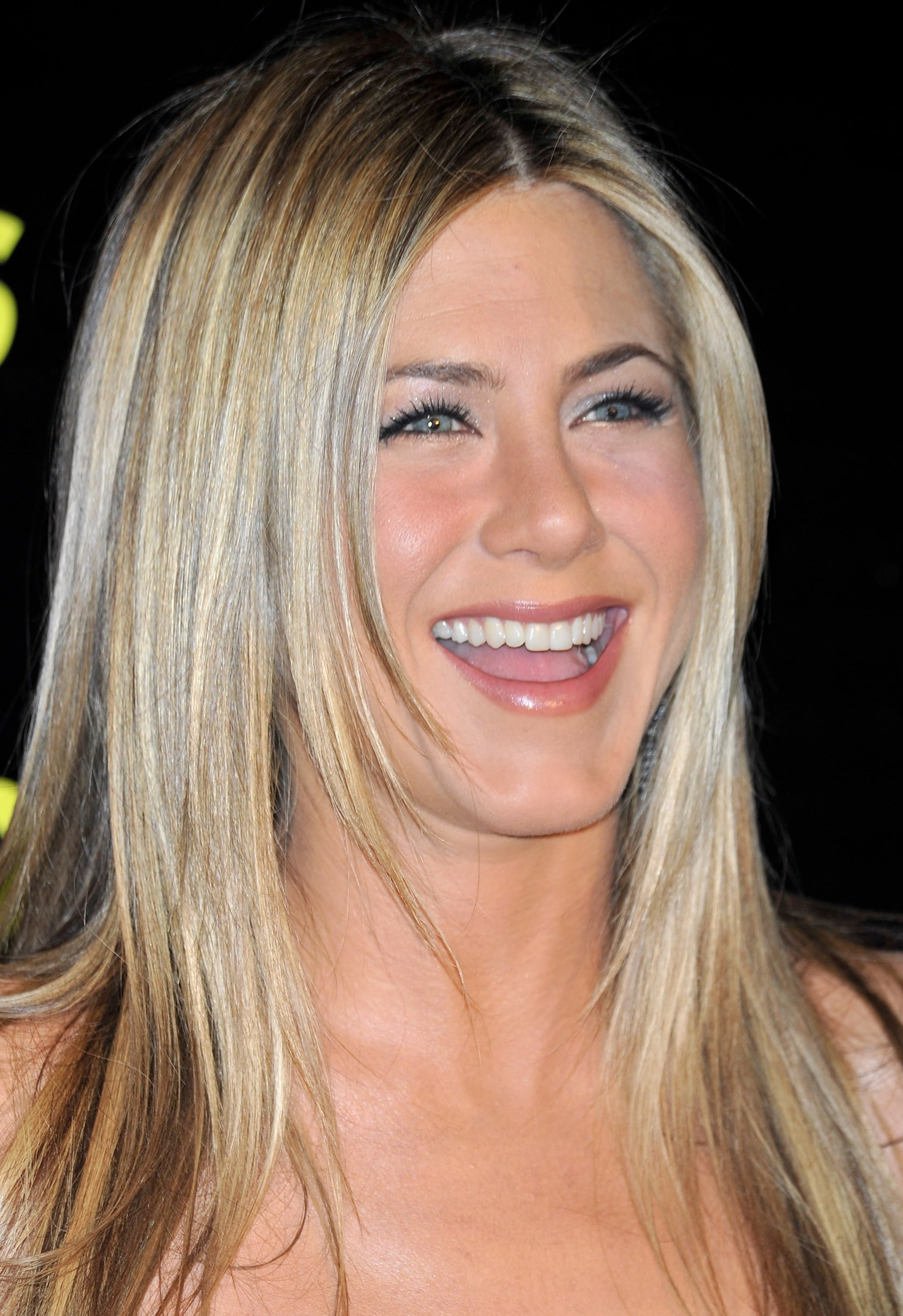 Photos of Jennifer Aniston in a Short Black Dress at