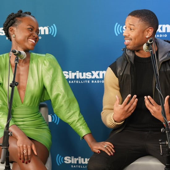Lupita Nyong'o Making Michael B. Jordan Do Push-Ups