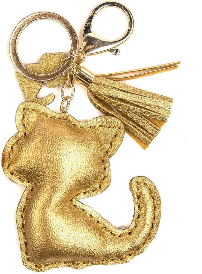 Metallic cat tassel