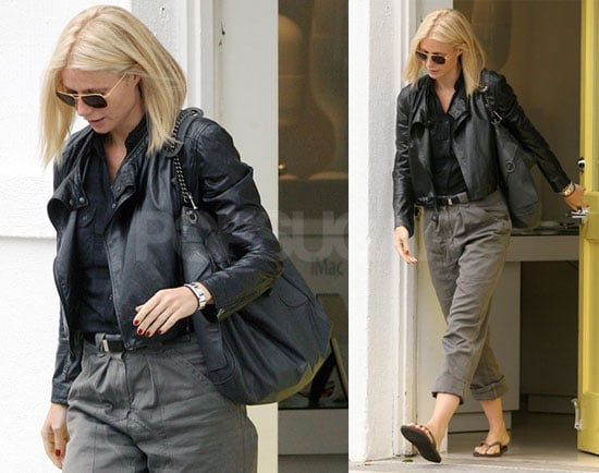 Photos of Gwyneth Paltrow Leaving the Byron and Tracey Salon in LA