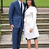 Meghan Ditched Tights For Her Engagement Photos With Prince Harry