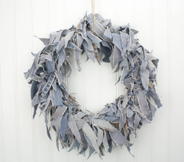 Denim Wreaths