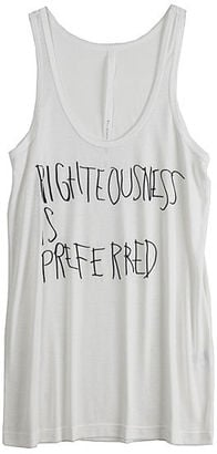 Erin Wasson For RVCA Righteousness Tank: Love It or Hate It?