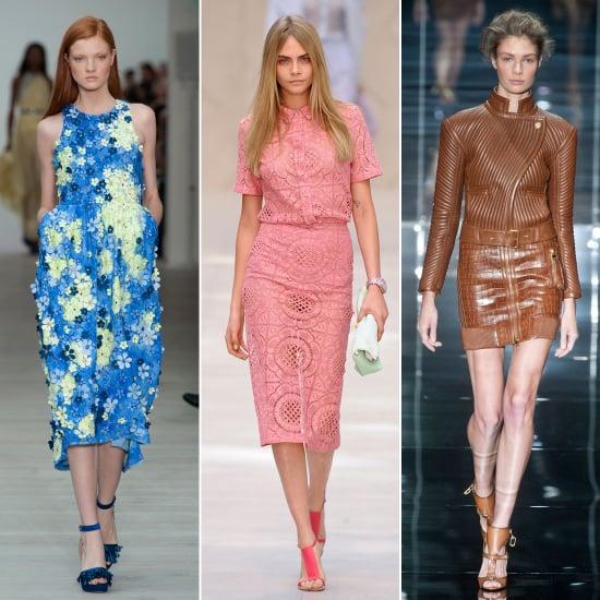 2014 Spring London Fashion Week Trends