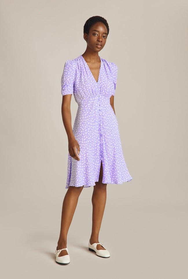 Shop Lilac Dresses: Ghost Sabrina Dress