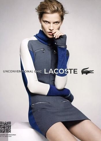Colorblocking and zipper details are here to stay in Lacoste's Fall lineup.