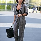 Miroslava Duma borrowed from the boys in the most elegant way.