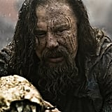 Mickey Rourke as King Hyperion in Immortals.  Photo courtesy of Relativity