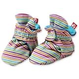 Zutano Rainbow Stripe Cotton Baby Bootie ($21)