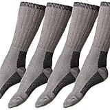 Happy Shapers 4 Pairs of Womens Merino Wool Socks