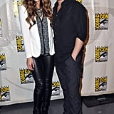 Kate Beckinsale hit the convention alongside her husband and Total Recall director Len Wiseman in 2012.